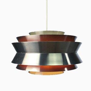 Lampada da soffitto Trava vintage di Carl Thore per Granhaga Metallindustri