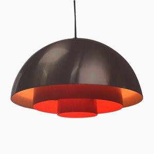 Lámpara de techo Milieu Mid-Century de Jo Hammerborg para Fog & Mørup