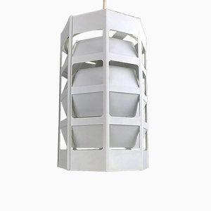 Lámpara de techo danesa vintage de Poul Gernes para Louis Poulsen