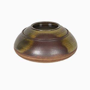 Vintage Lidded Stoneware Centerpiece by Nanni Valentini for Ceramica Arcore, 1960s