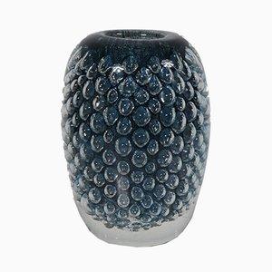 Vaso in vetro di Floris Meydam per Royal Leerdam Crystal, anni '60