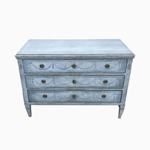 Antique Gustavian Chest of Drawers, 1820s