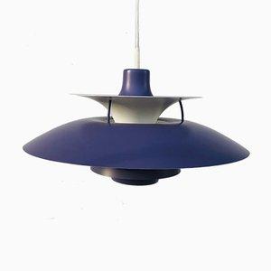 Lámpara colgante PH5 de Poul Henningsen para Louis Poulsen, años 80