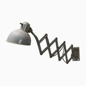 Industrial Scissor Wall Lamp, 1950s