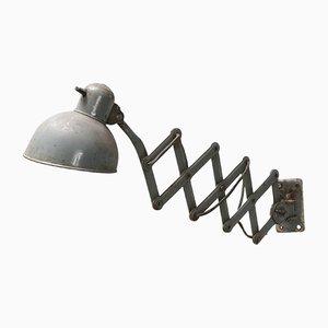 Lámpara de acordeón industrial, años 50