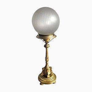 Lampada da tavolo vintage in bronzo, anni '30