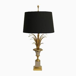 Lámpara de mesa francesa de Maison Charles, años 60