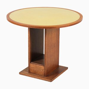 Tavolino da caffè Art Déco scuola dell'Aia di Willem Penaat per Metz & Co, anni '30