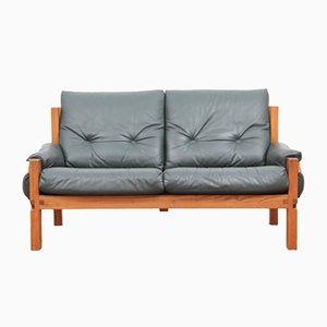 Sofá modeloo S22 de Pierre Chapo, años 70
