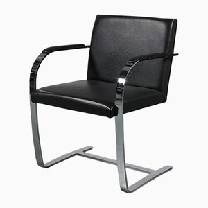 Black Brno Chair by Ludwig Mies van der Rohe for Knoll, 1960s