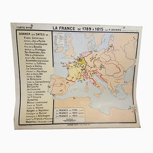 French No. 62 Map, 1950s