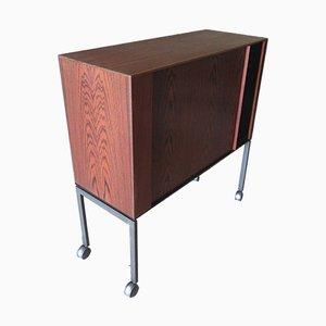 Mueble para el televisor de palisandro, años 60