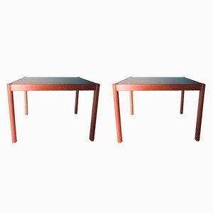Tables d'Appoint en Teck, Danemark, 1960s, Set de 2