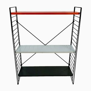 Vintage Metal Shelving Unit by A. D. Dekker for Tomado, 1960s