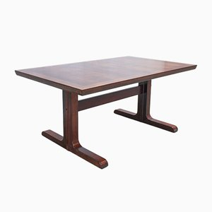 Danish Rosewood Extendable Dining Table from Skovby, 1960s