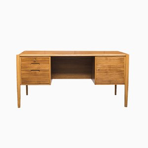 Vintage Walnut Desk by Wilhelm Renz, 1960s