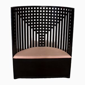 Poltrona Willow di Charles Rennie Mackintosh per Cassina, anni '70