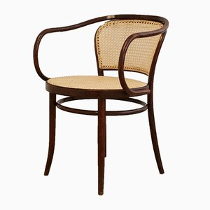'No. 210' Bentwood Chair by Gebrüder Thonet for Ligna Drevounia, 1960s