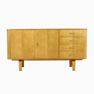 Model 544 Laminated Birch Sideboard by Willem Lutjens for Gouda den Boer, 1950s