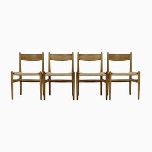 Model CH36 Dining Chairs by Hans J. Wegner for Carl Hansen & Søn, 1960s, Set of 4