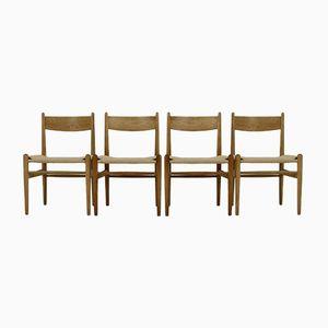 Modell CH36 Esszimmerstühle von Hans J. Wegner für Carl Hansen & Søn, 1960er, 4er Set