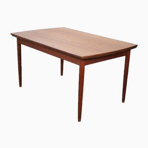 Ausziehbarer skandinavischer Tisch aus Teak von Johannes Andersen für Samcom, 1960er