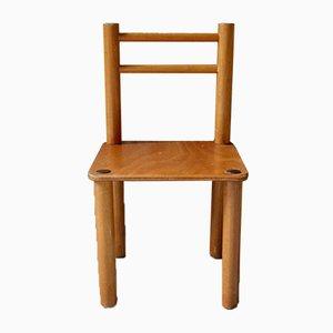 Sedia da bambino minimalista, anni '50