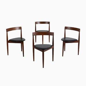 Chaises de Salon Vintage par Hans Olsen pour Frem Røjle, Set de 4