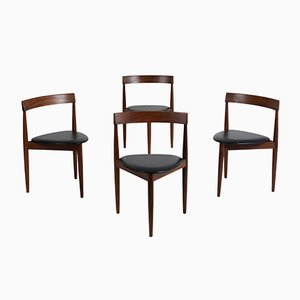 Vintage Dining Chairs by Hans Olsen for Frem Røjle, Set of 4