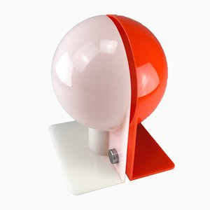 Lámpara de mesa Mid-Century Modern de Sergio Brazzoli & Emmano Lampa para Harvey Guzzini