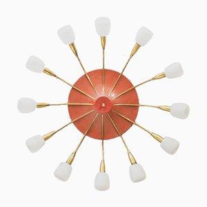 Grande Lampe Sputnik Mid-Century
