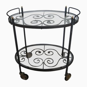 Vintage Italian Serving Bar Cart, 1960s