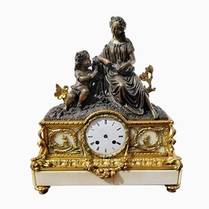 Antique Clock by Japy Freres & Cie, 1855