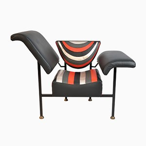 Leather Greetings from Holland Lounge Chair by Rob Eckhardt, 1983