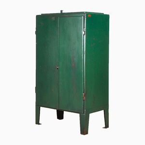 Green Industrial Cabinet, 1960s