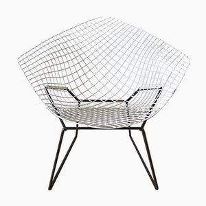Chaise Diamond 421 Vintage par Harry Bertoia pour Knoll International