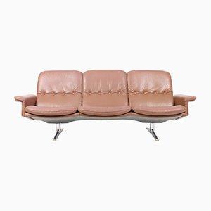 Canapé Vintage en Cuir, Danemark, 1970s