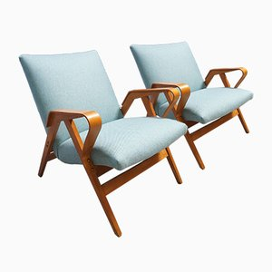 Mid-Century Czech Lounge Chairs from Tatra, 1960​s, Set of 2