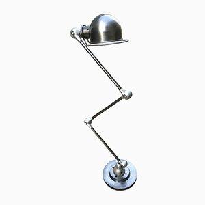 Lampada da terra con braccio regolabile di Jean Louis-Domecq per Jieldé, anni '50