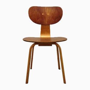 SB02 Stuhl von Cees Braakman für Pastoe, 1950er