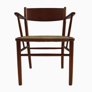 Danish Teak No. 156 Chair by Børge Mogensen for Søborg Møbelfabrik, 1950s