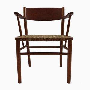 Danish Teak No. 156 Chair by Børge Mogensen for Søborg Møbelfabrik, 1950s
