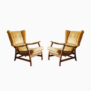 Mid-Century Danish Armchairs, 1950s, Set of 2