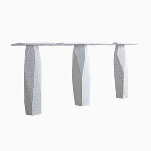 MONOLITH Console Tables by Marc Dibeh for The Piece Makers, Set of 3