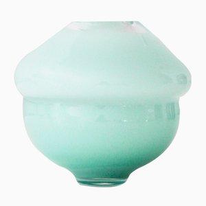 Green Volcano Vase by Alissa Volchkova