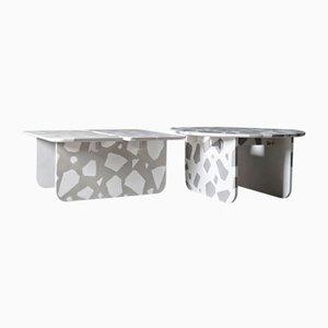 Tavolini da caffè MONOLITH di Marc Dibeh, set di 2