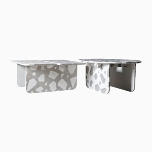 Tavolini da caffè MONOLITH di March Dibeh, set di 2