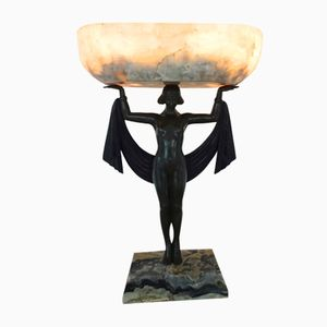 Art Deco Table Lamp by Fanny Rozet, 1925