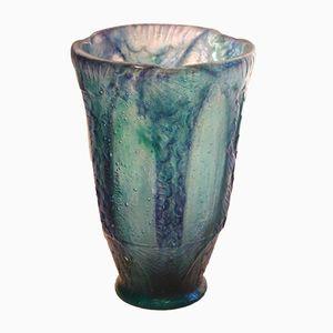 Art Deco Glass Vase by Argy Rousseau, 1926