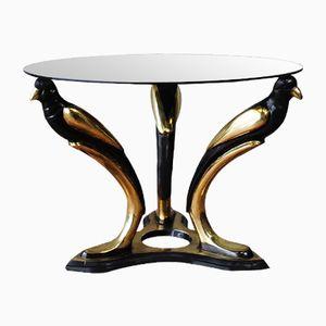 Table Basse Oiseau en Or Italie, 1970s